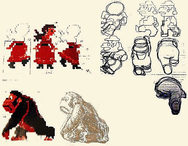 Concept Art for Donkey Kong