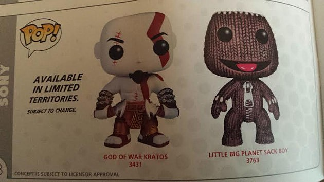 Funko Pop God of War Little Big Planet