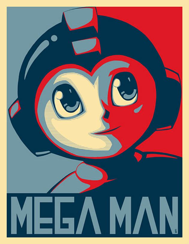 Mega Man Tribute by E-V-IL