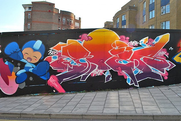 Mega Man Graffiti