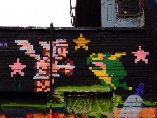 Kid Icarus Graffiti