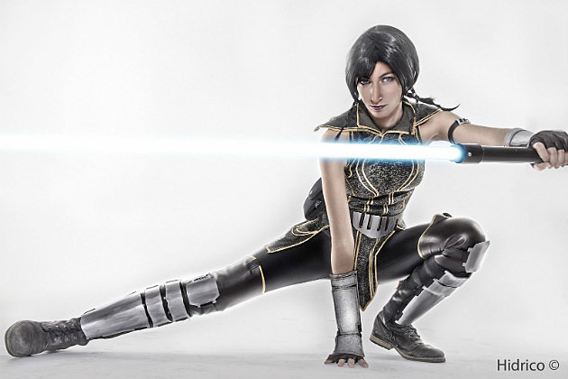 Nebulalueben as Satele Shan from Star Wars The Old Republic Shot by Hidirico