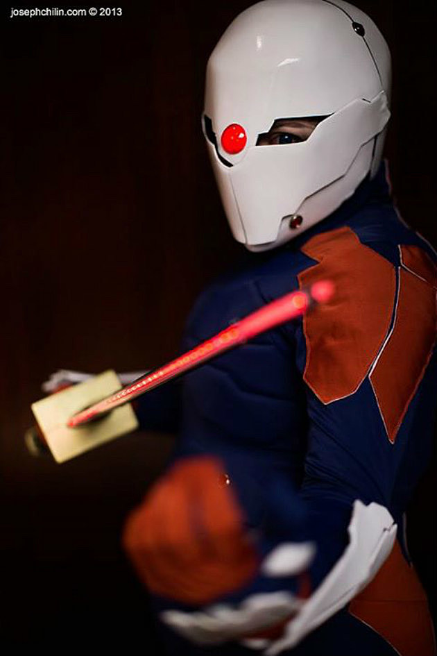 Bejitaballz Cosplay as Gray Fox from Metal Gear Solid