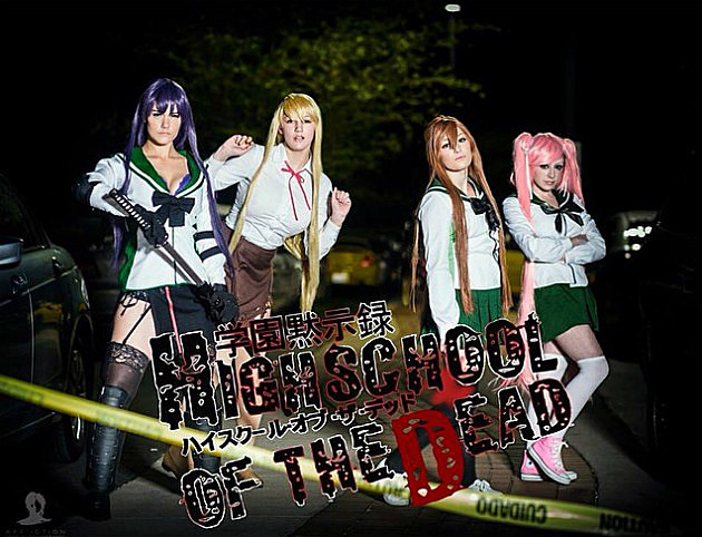 Unknown as High School of the Dead Girls by Affliction Cosplay
