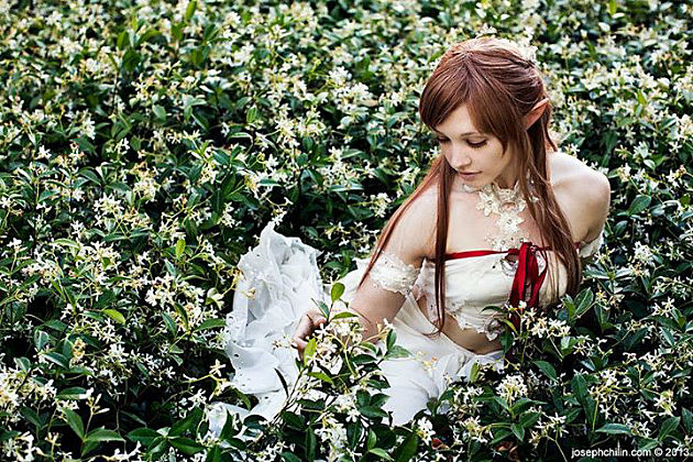 Fox Gloves as Asuna from Sword Art Online