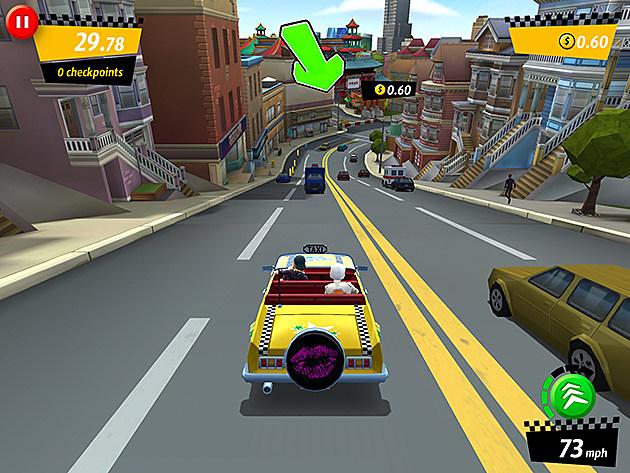Crazy Taxi City Rush Cars