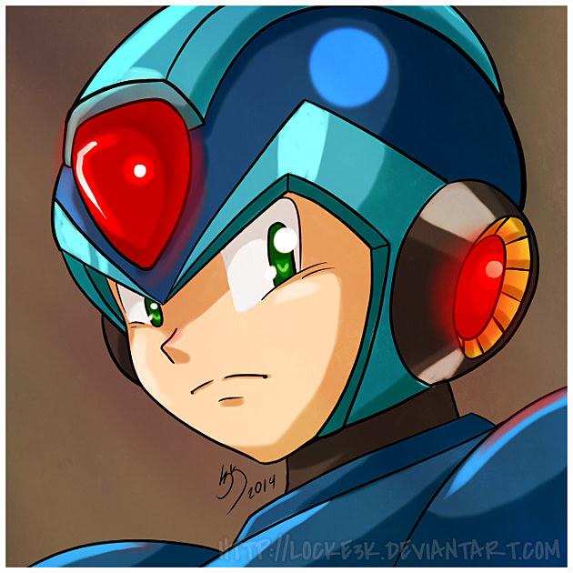Mega Man X - 2014 by Locke3K
