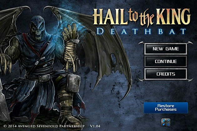 Hail to the King: Deathbat PC Game (Created By Avenged